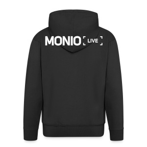 Monio Live Hoodie Black - Men's Premium Hooded Jacket