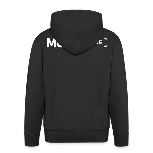 Monio Live Hoodie Black - Men's Premium Hooded Jacket