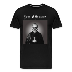 Three Papas of Halmstad T-shirt - Premium-T-shirt herr
