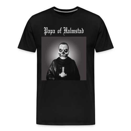 Three Papas of Halmstad T-shirt - Premium-T-shirt herr