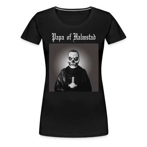 Three Papas of Halmstad ladies shirt - Premium-T-shirt dam