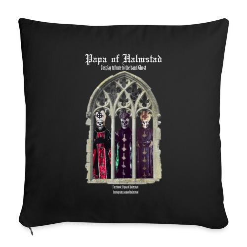 Three Papas of Halmstad pillow - Soffkuddsöverdrag, 44 x 44 cm