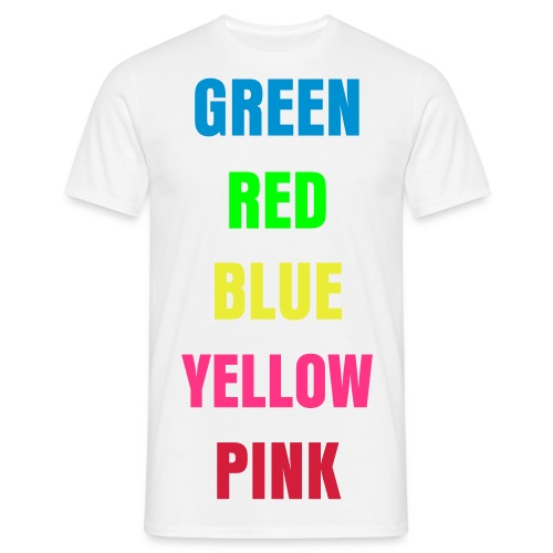 color twist - T-shirt herr