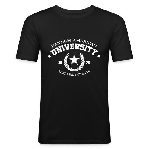 University mannen slimfit - slim fit T-shirt