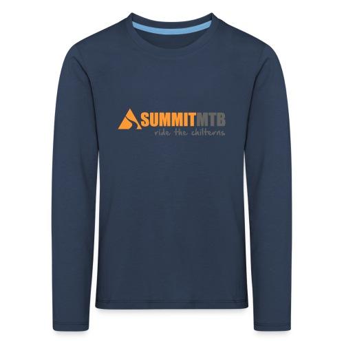 Summit MTB Kids LS T-Shirt - Kids' Premium Longsleeve Shirt