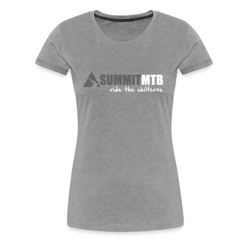 Summit MTB Women's T-Shirt Mono - Women's Premium T-Shirt