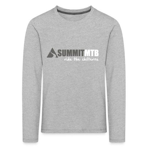 Summit MTB Kids LS T-Shirt Mono - Kids' Premium Longsleeve Shirt