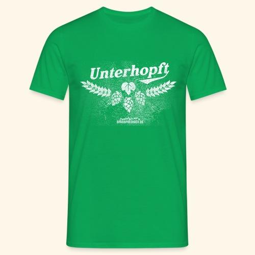 Unterhopft T-Shirt, distressed - Männer T-Shirt