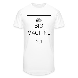 Big Machine - Männer Urban Longshirt
