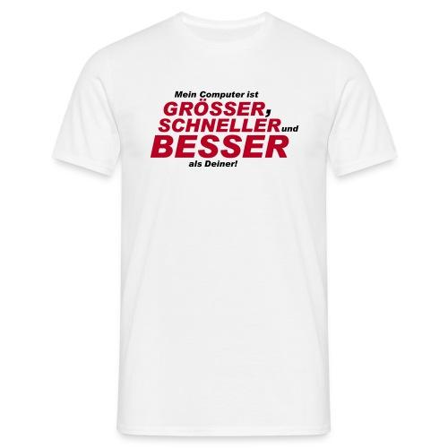 T-Shirt Grösser,... - Männer T-Shirt