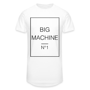 Big Machine 2 - Männer Urban Longshirt