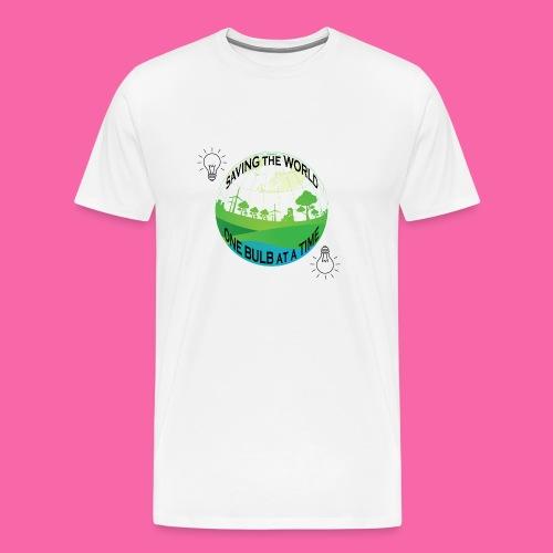 Saving the World - Men's Premium T-Shirt