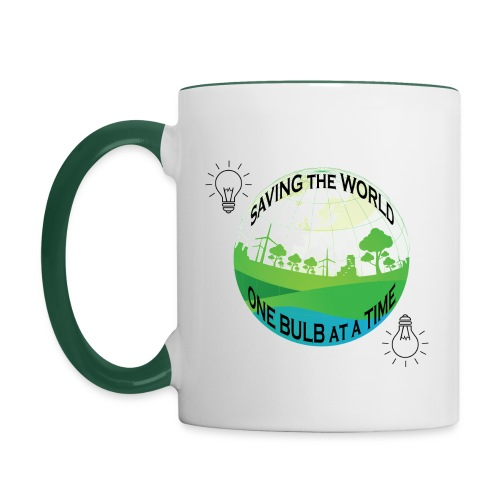 Saving the World - Contrasting Mug