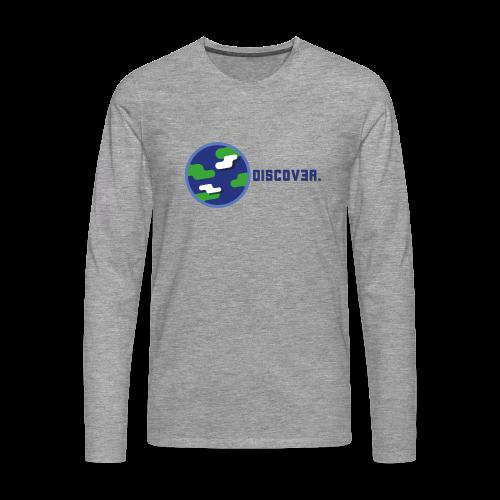 Discover The Earth - Sweatshirt - Männer Premium Langarmshirt