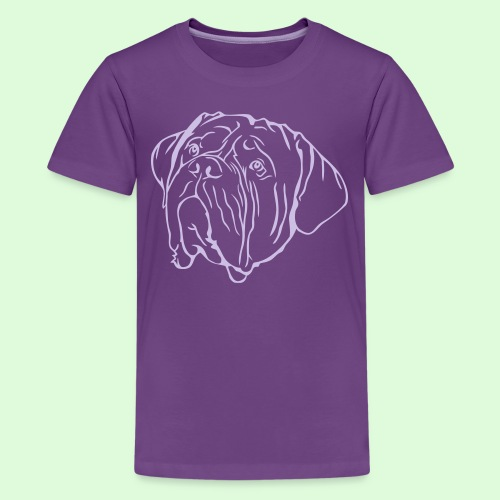 Face de Dogue de Bordeaux - T-shirt Premium Ado