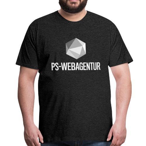 PS-WebAgentur white - Männer Premium T-Shirt