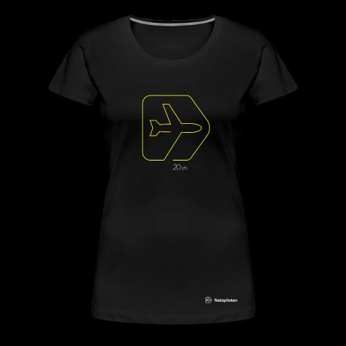 Frauen-Shirt 20yrs Jubiläums Edition Neon Line - Frauen Premium T-Shirt