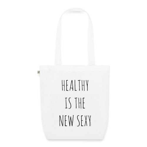 Tote bag bio Healthy is the new sexy - Sac en tissu biologique