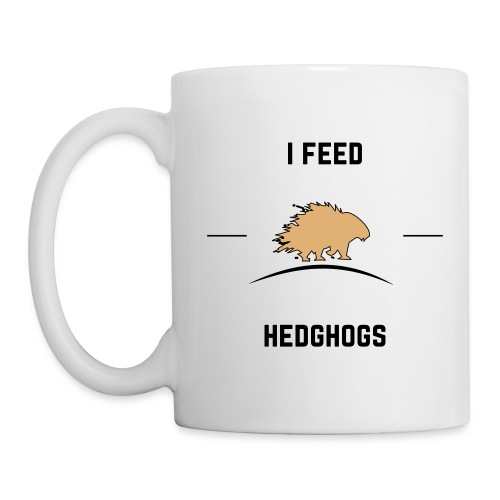 I feed hedghogs - Mug
