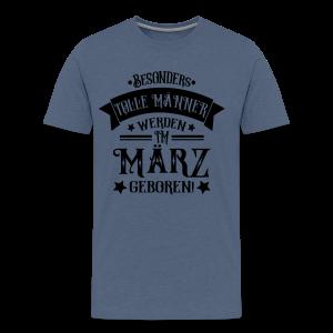 Männer im März Geboren Geburtstag Spruch T-Shirts
