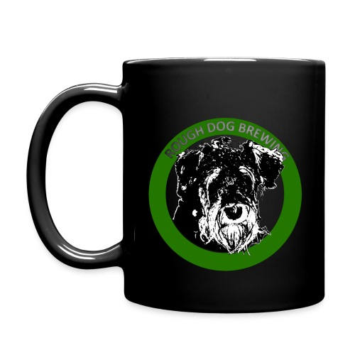 Rough Dog MUGG BLACK - Enfärgad mugg