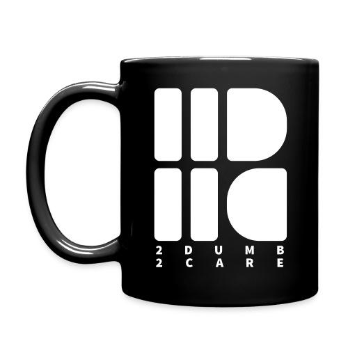 2dumb2care - logo - Enfärgad mugg