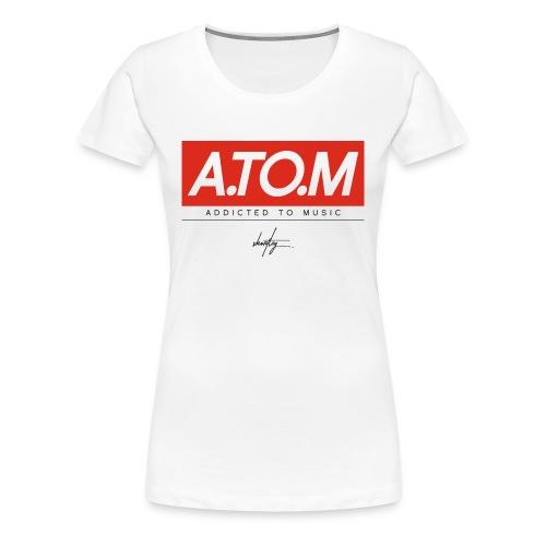 A.TO.M wht wmn - Frauen Premium T-Shirt