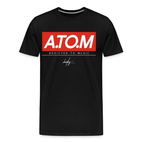 A.TO.M blck - Männer Premium T-Shirt