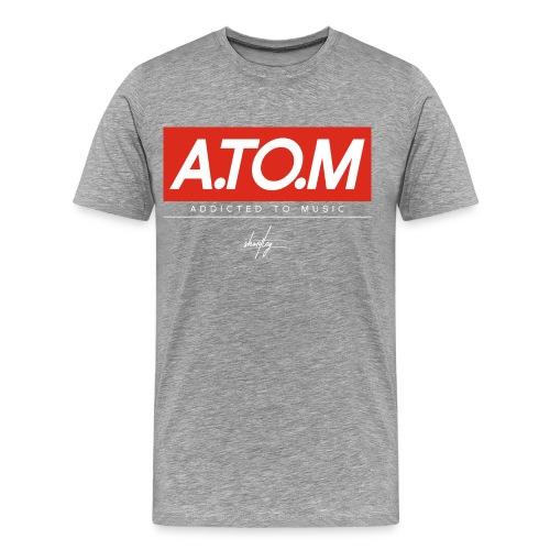 A.TO.M gry - Männer Premium T-Shirt