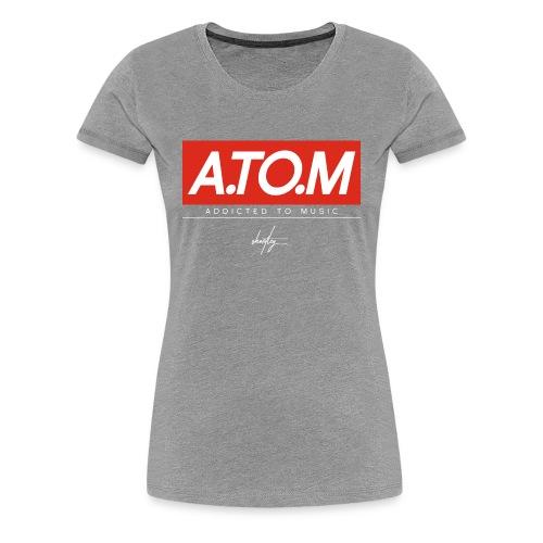 A.TO.M gry wmn - Frauen Premium T-Shirt