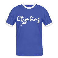 T-Shirts ~ Männer Kontrast-T-Shirt ~ Climbing Shirt