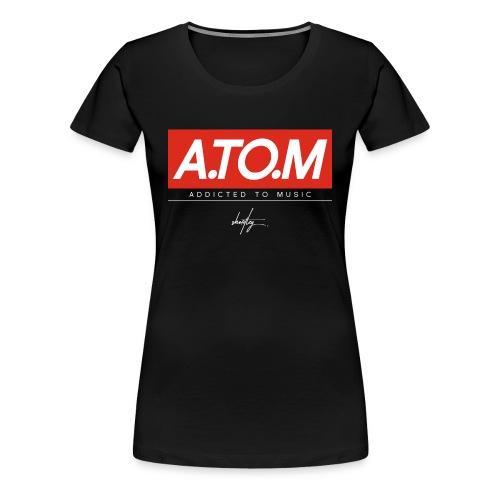 A.TO.M blck wmn - Frauen Premium T-Shirt