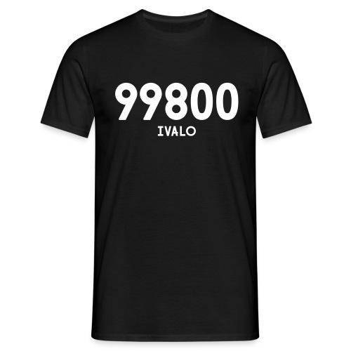 99800 IVALO - Miesten t-paita