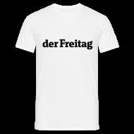 T-Shirts ~ Männer T-Shirt ~ derFreitag Shirt weiß
