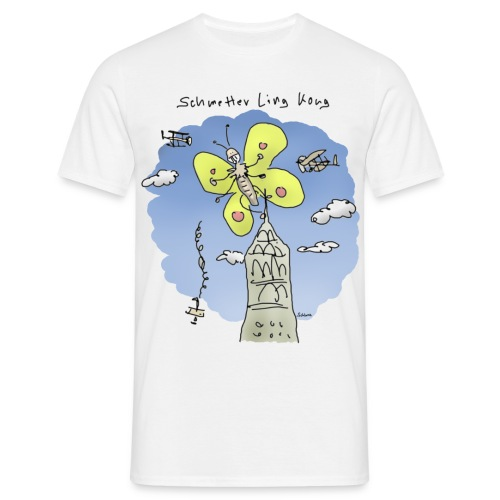 Schmetter Ling Kong - Männer T-Shirt
