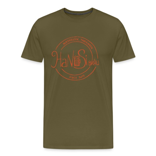 Männer Brauerei Hanusi T-Shirt - Männer Premium T-Shirt