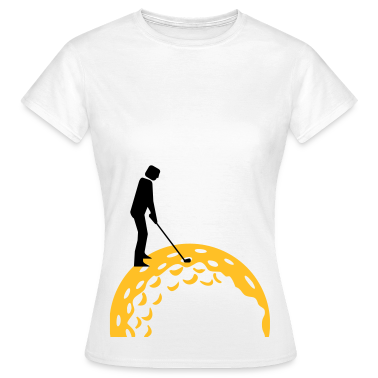 White golfing (2c) Women's T-Shirts