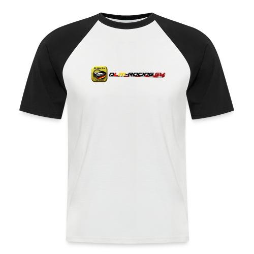 Kurzarm-Baseball-Shirt - Modell2 - DLM-Racing  - Männer Baseball-T-Shirt