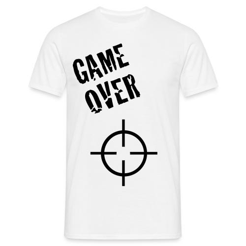 MEN-clothcollection gameover_boy - Herre-T-shirt