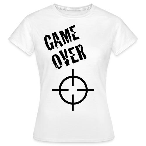 MEN-clothcollection gameover_girl - Dame-T-shirt
