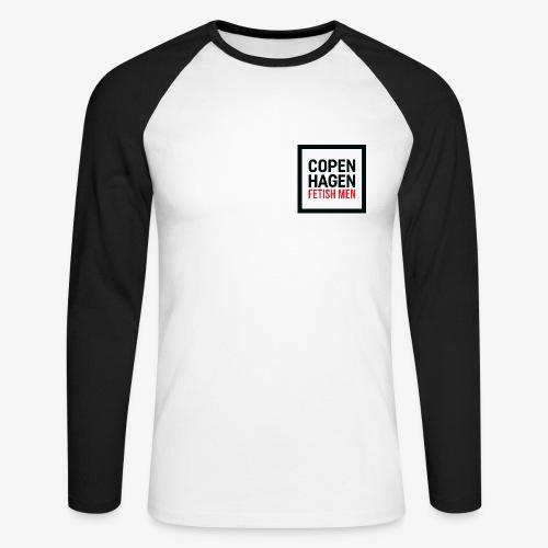 Langærmet T-Shirt - Langærmet herre-baseballshirt