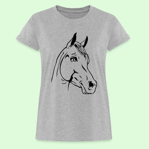Tête de Cheval - T-shirt oversize Femme