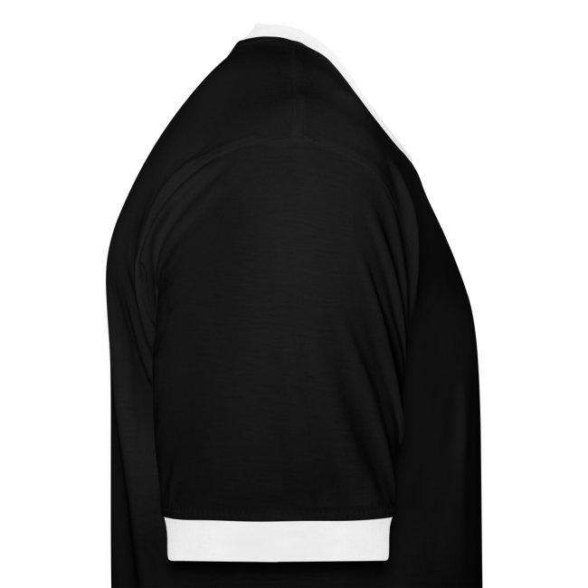 Schmob Kontrast Shirt (schwarz)