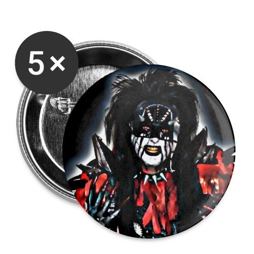 GLAMSTER Buttons - Rintamerkit pienet 25 mm