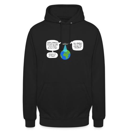 Sweat Capuche Homme Invasion Extraterrestre - Sweat-shirt à capuche unisexe