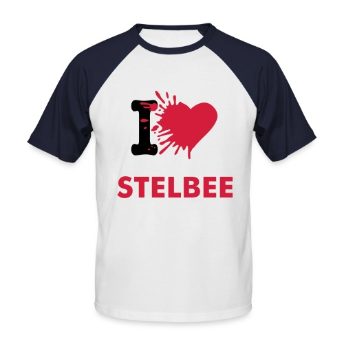 stelbee - T-shirt baseball manches courtes Homme