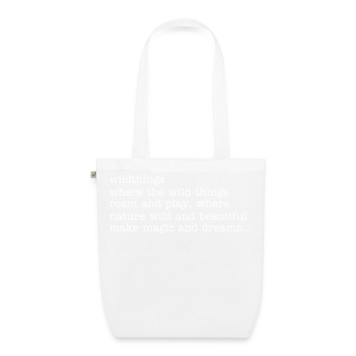 wild things eco tote bag - EarthPositive Tote Bag
