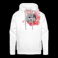 Sweatshirts ~ Herre Premium hættetrøje ~ Hættetrøje, I like the flowers.