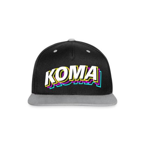 Kontrast Snapback Cap - Team DDR,Paintball,Koma Gera,Koma