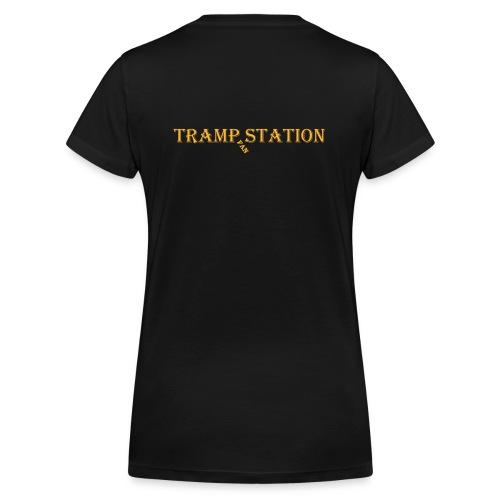 Damen Fanshirt, V-Ausschnitt - Frauen Bio-T-Shirt mit V-Ausschnitt von Stanley & Stella